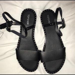 Top shop black sandals